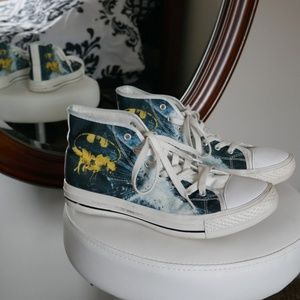 Shoes - Batman Sneakers (Chuck style) Size 9